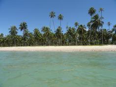 Praia do Patacho, Brasil.