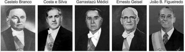 presidentes militares