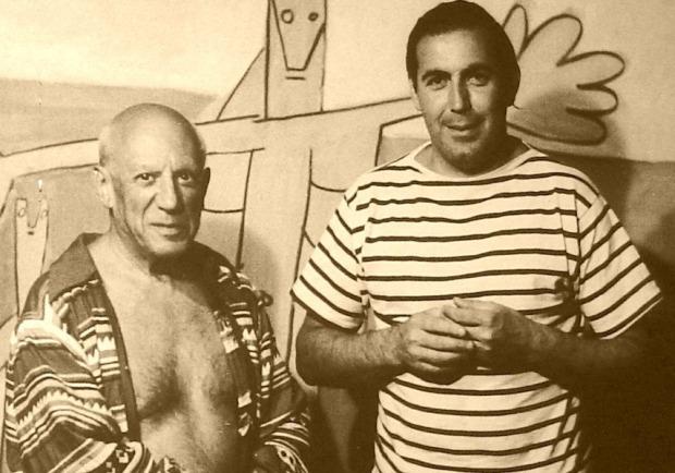 Carlos Paez Vilaró e Pablo Picasso
