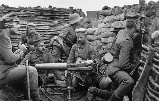 soldados alemães na frente ocidental