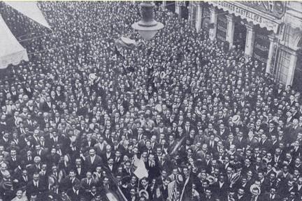 www.ibamendes.com.manifestação em s paulo contra a alemanha, após torpedeamento do Paraná