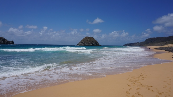 Praia do Leão.