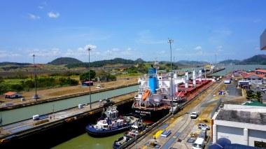 Canal do Panamá.