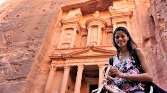 Petra, Jordânia.