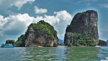 Ilha James Bond, Tailândia.